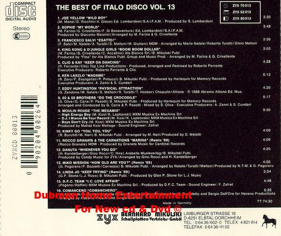 Comancero - Comanchero (Remix '89)