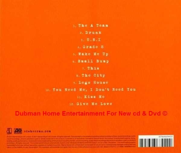 Ed Sheeran Plus Dubman Home Entertainment