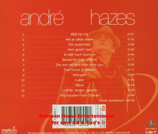 Andre Hazes Liefde Leven Geven Dubman Home Entertainment