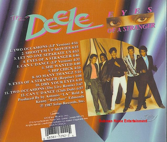 The Deele - Can U-Dance