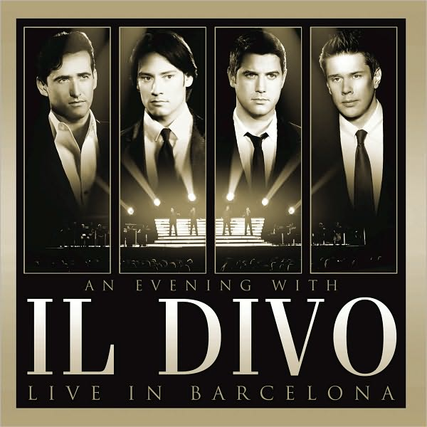 Il divo live in barcelona cd dvd dubman home - El divo hallelujah ...