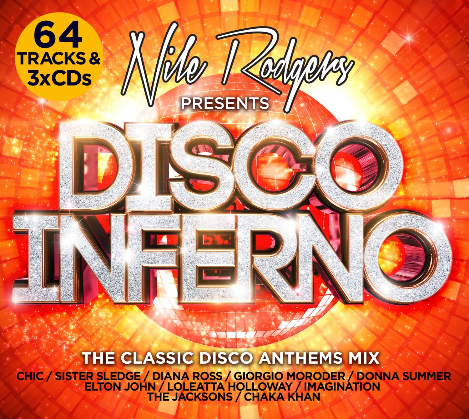 Nile rodgers presents disco inferno 3 cd dubman home for Classic house cd