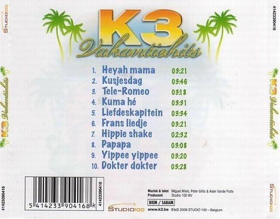 K3 Vakantiehits Dubman Home Entertainment