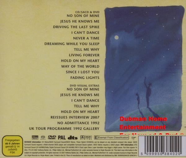 Genesis - We Can''t Dance SACD + Dvd - Dubman Home Entertainment