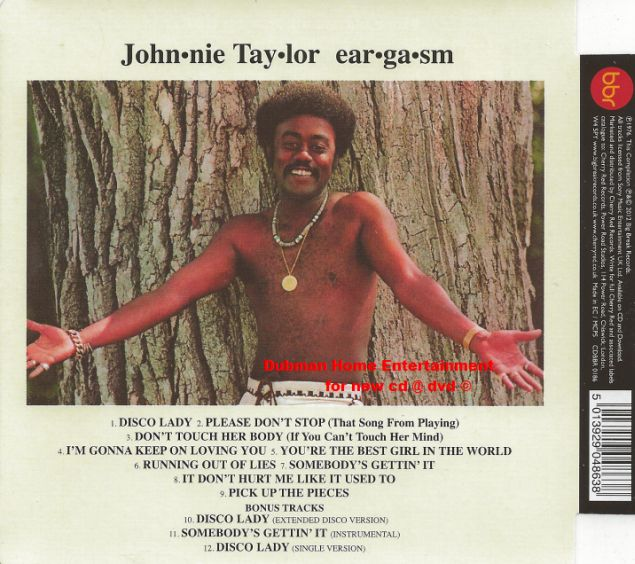 Johnnie taylor cd: eargasm. Plus (cd) bear family records.