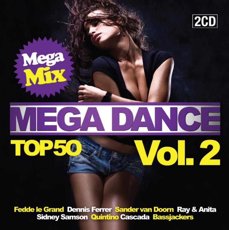 Mega Dance Mega Mix Vol 2 New 2010 2 Cd Dubman Home Entertainment