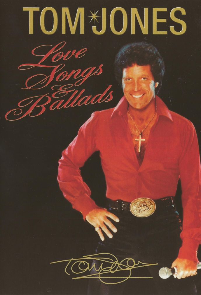 Tom Jones - Love Songs & Ballads dvd - Dubman Home