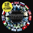World Wide Metal Box - 5cd box + game