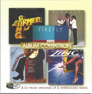 Flowchart / Zinc / Firefly  / Kenny Claiborne And The Armed Gang ‎– Album Collection  5-cd