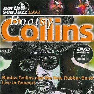 Bootsy Collins And The New Rubber Band  ‎– Live In Concert 1998 dvd  + cd
