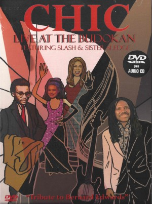 Chic Feat. Slash  & Sister Sledge ‎– Live At The Budokan 1996 dvd + cd